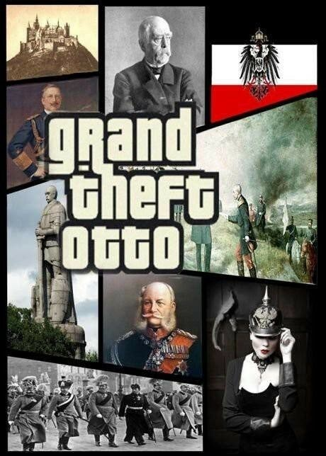 dank meme about an Ottoman Empire edition of the game Grand Theft Auto