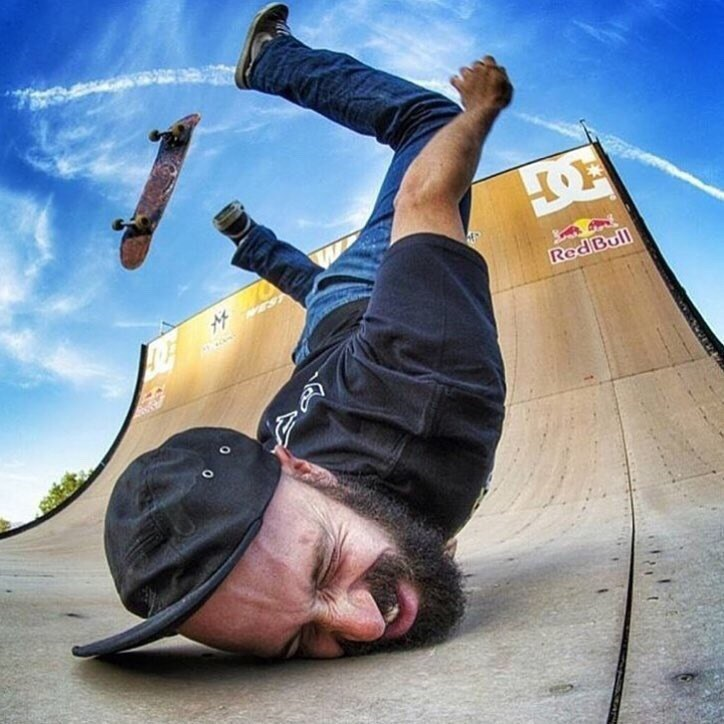 Skateboarder - 4 Red Bull