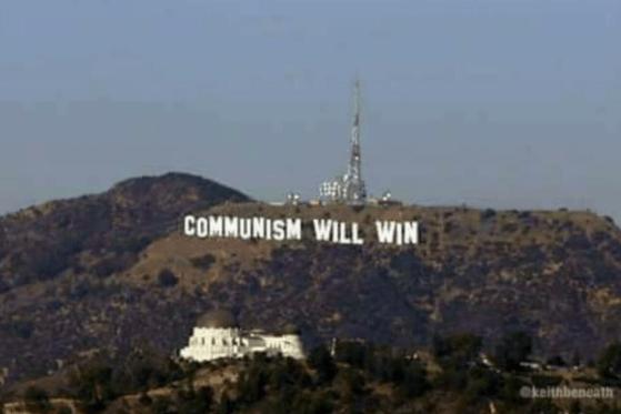 funny fail - Landmark - COMMUNISM WILL WIN ekeithbencath