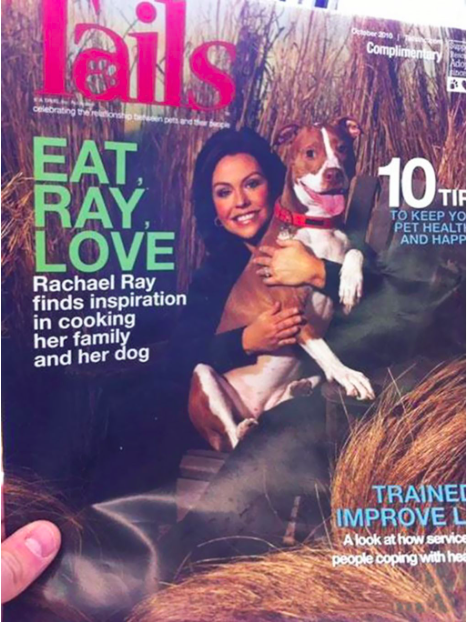 Magazine - Complimentery Ado esnd he EAT RAY LOVE 10F TIP TO KEEP YO PET HEALT AND HAPP Rachael Ray finds inspiration in cooking her family and her dog TRAINE IMPROVE L A look at how service people coping with he