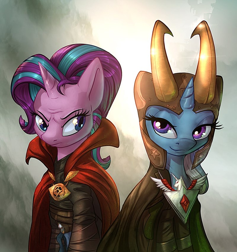 loki the great and powerful trixie marvel cosplay starlight glimmer ponify doctor strange - 9015696128