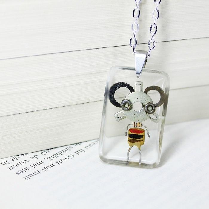 robot necklaces - Pendant - ceau lui Gauti mai mult esambată, mai ales ara de vineri ecat in