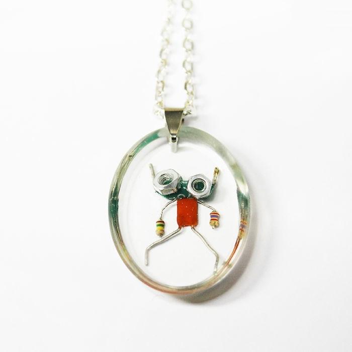 robot necklaces - Pendant