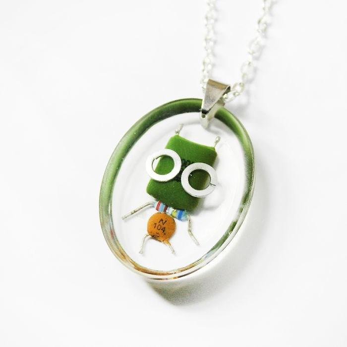 robot necklaces - Jewellery - N 104