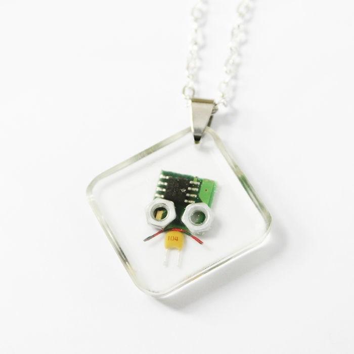 robot necklaces - Pendant - 104