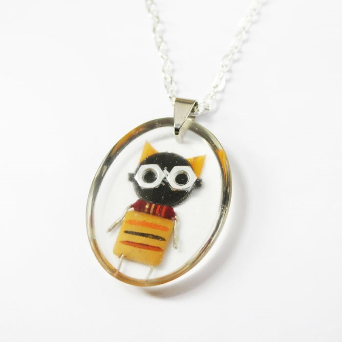 robot necklaces - Pendant - OO