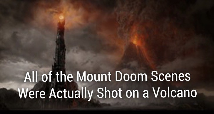 Heat - All of the Mount Doom Scenes Were Actually Shot on a Volcano