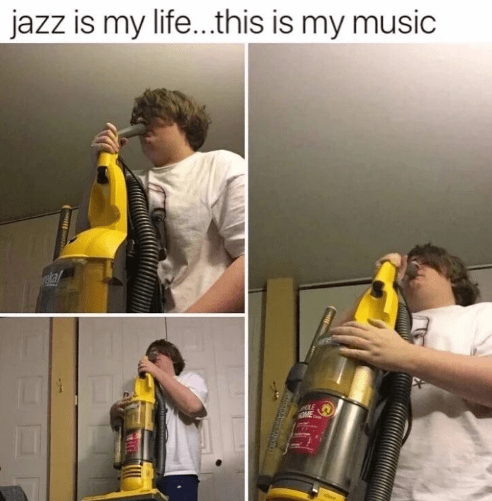Impact wrench - jazz is my life...this is my music ela LE OME