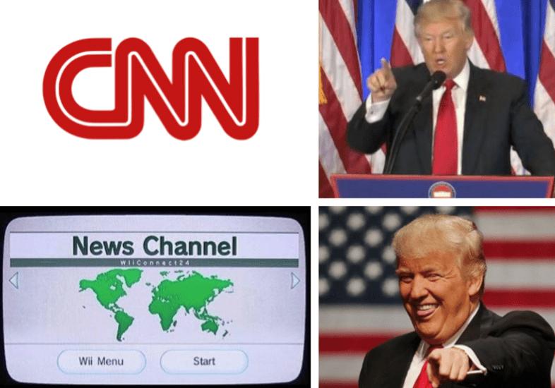 News - CNN News Channel WiIConneci 24 Wii Menu Start