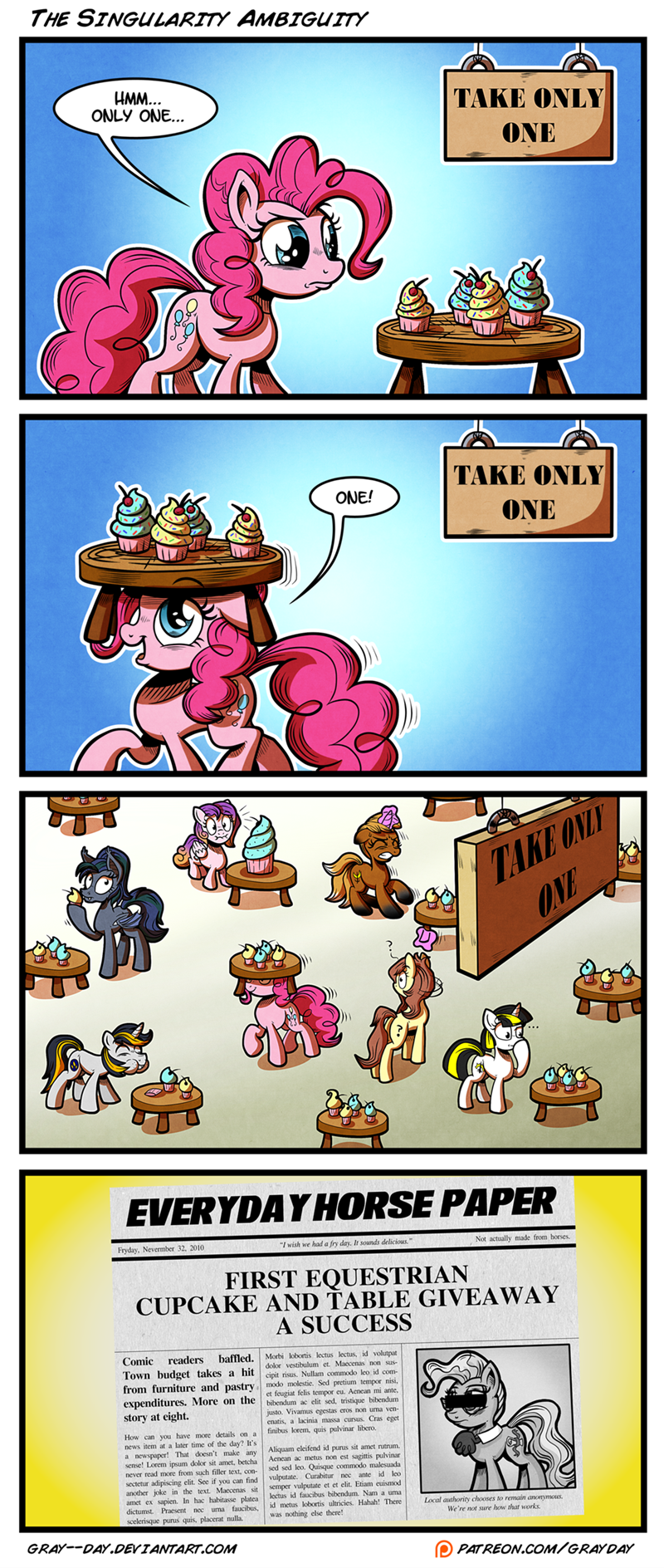 OC pinkie pie comic mayor mare - 9016459264