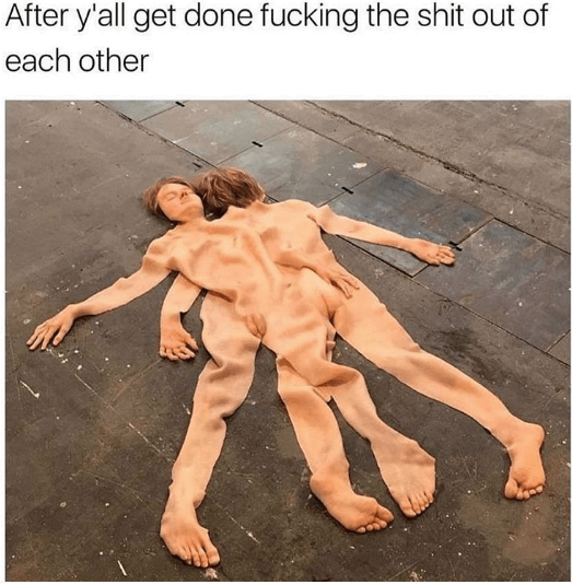 Human - After y'all get done fucking the shit out of each other