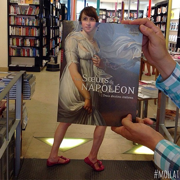 Fun - DIS an tives Nappleon's Thre Soters Soeursde NAPOLÉON Trois destins italiens #MOLAT