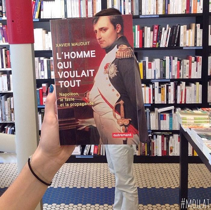 Book - XAVIER MAUDUIT L'HOMME QUI VOULAIT TOUT Napoléon, Te faste et la propagande Cutrement #MOILAI ULL hecpon