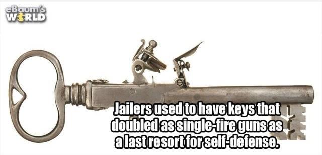 Font - eBaum's WERLD Jailers used to have keys that doubledassingle-firegunsas alastresortforsel-detense