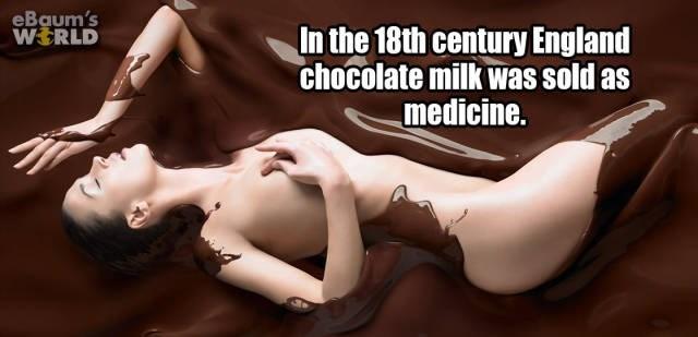 Cartoon - eBaum's WERLD In the 18th century England chocolate milk was sold as medicine.
