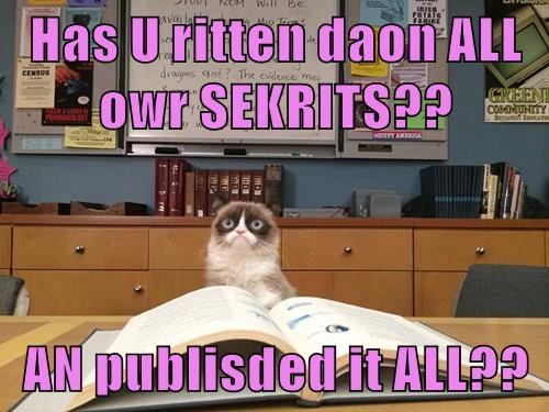cat caption written secrets published - 9017230336