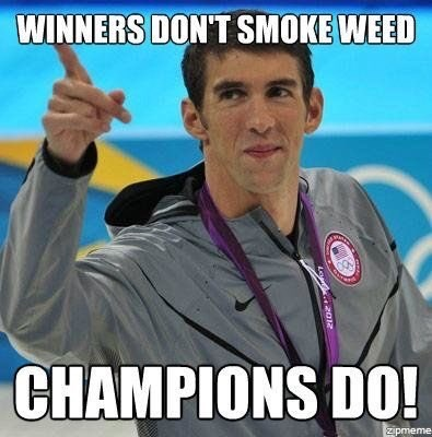 dank meme - Photo caption - WINNERS DON'T SMOKE WEED CHAMPIONS DO! zipmeme Le 20R