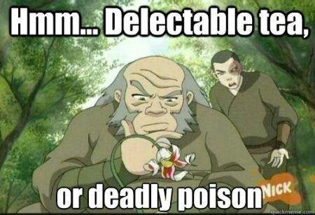 Cartoon - HmmDelectable tea, or deadly poison NICK quickmema