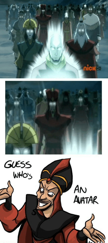 Cartoon - nickHD GUESS WHOS AN AVATAR S