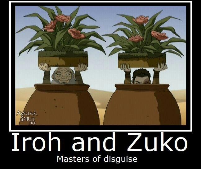 Houseplant - AVAIAR SPIRIT NET Iroh and Zuko Masters of disguise