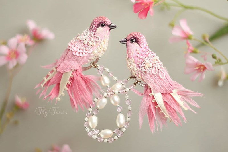 decorative - Bird - Fly Fenis