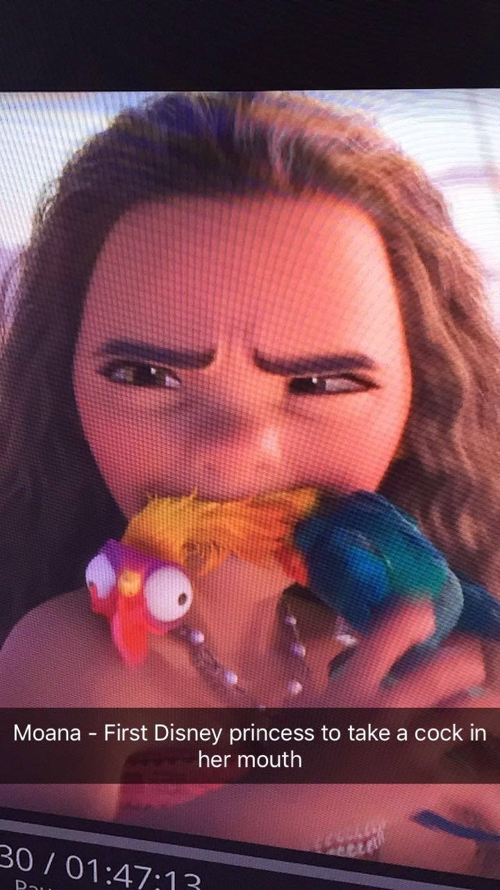 Nose - Moana First Disney princess to take a cock in her mouth 30 / 01:47;13 Pau