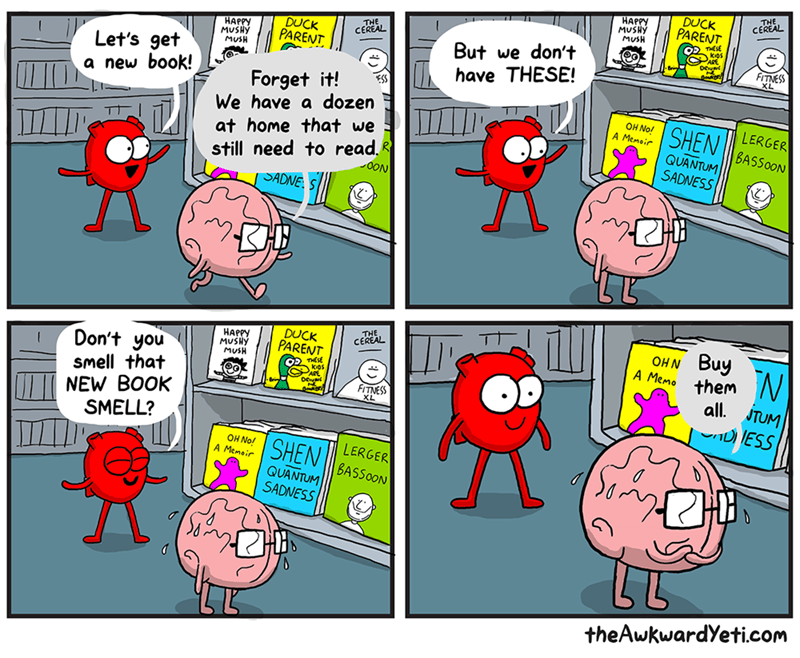 the awkward yeti,web comics