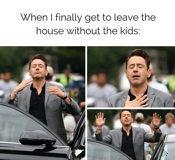 Motor vehicle - When I finally get to leave the house without the kids: