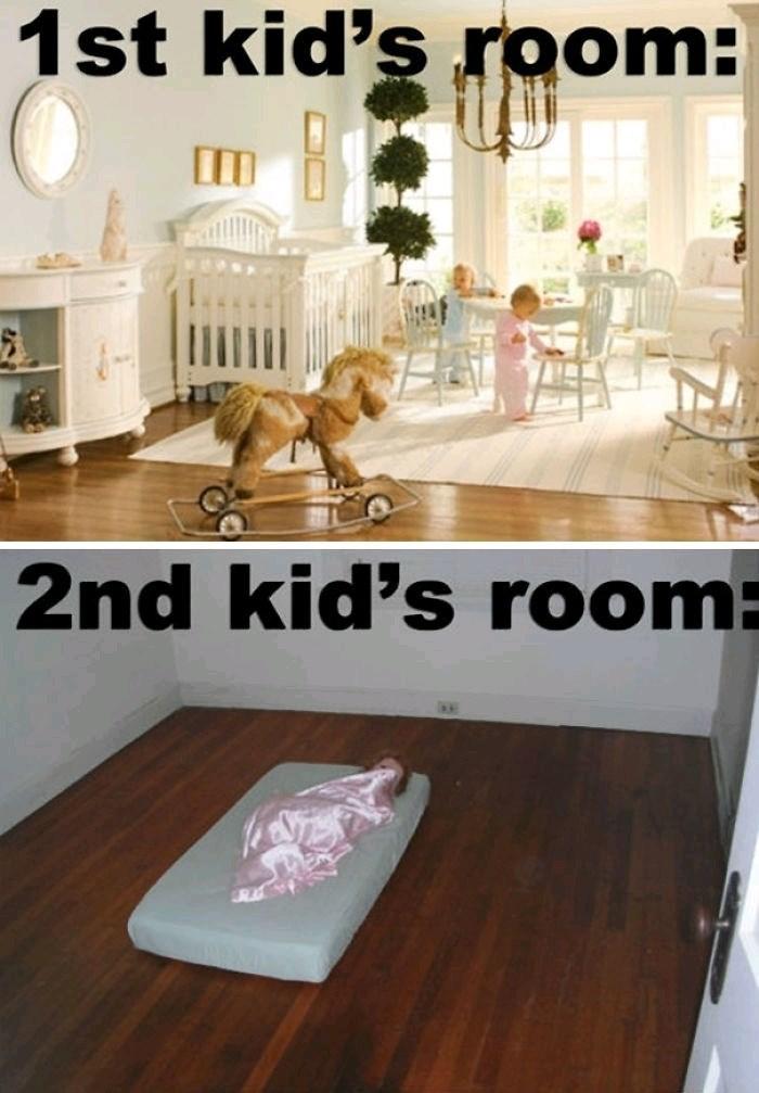 Floor - 1st kid's room: 2nd kid's room: