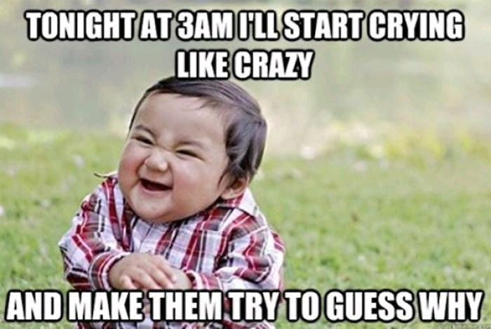 Facial expression - TONIGHTAT3AMILSTART CRYING LIKE CRAZY AND MAKE THEMTRYTOGUESS WHY