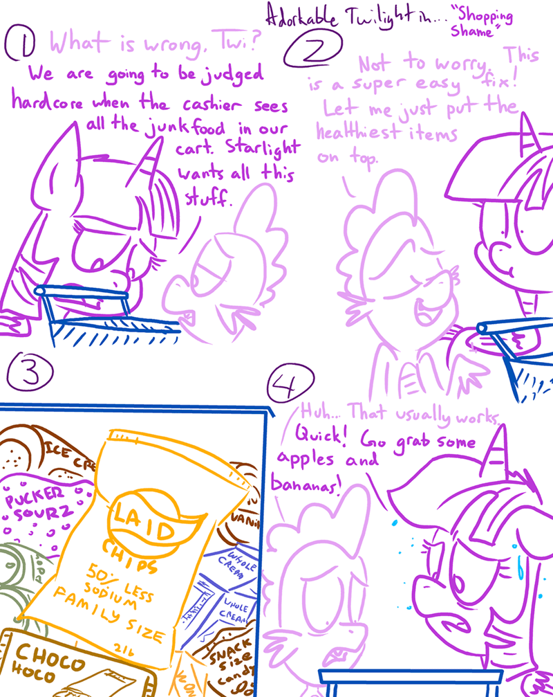 comic,twilight sparkle,spike,starlight glimmer,adorkable twilight and friends