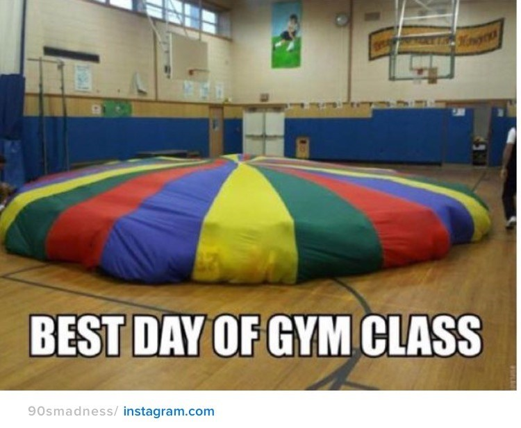 nostalgia - Inflatable - BEST DAY OF GYM CLASS 90smadness/instagram.com FoLE