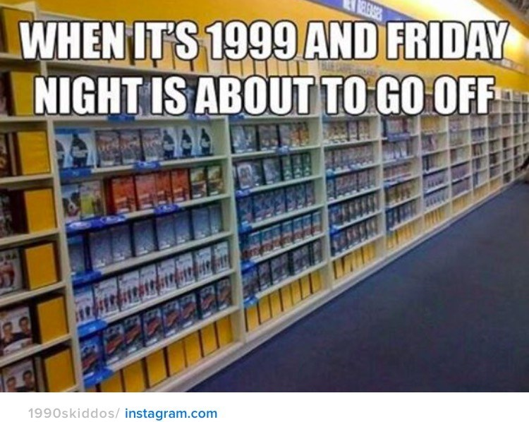nostalgia - Library - RELEASES WHEN ITS 1999 AND FRIDAY NIGHT IS ABOUT TO GO OFF 1990skiddos/instagram.com