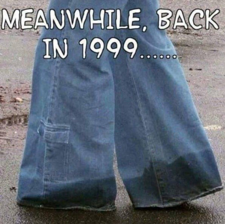 nostalgia - Denim - MEANWHILE, BACK IN 1999.