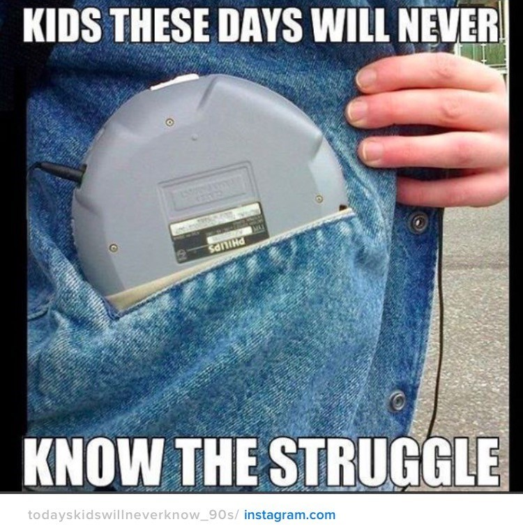 nostalgia - Technology - KIDS THESE DAYS WILL NEVER KNOW THE STRUGGLE todayskidswillneverknow_90s/ instagram.com