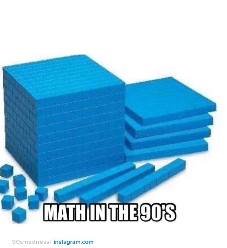 nostalgia - Product - MATH IN THE 90'S 90smadness/ instagram.com