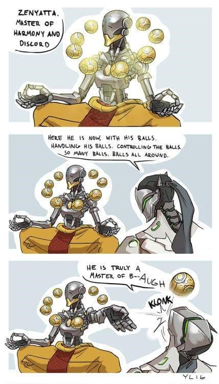 Cartoon - ZENYATTA MASTER OF HARMONY AND DISLORD HERE HE IS Now, WITH HIS BALLS HANDLING HIS BALLS. CONTROLLING THE BALS. So MANY BALLS. BALLS ALL AROUND. HE IS TRULY A MASTER OF 6-4UGH KLONK YLIG