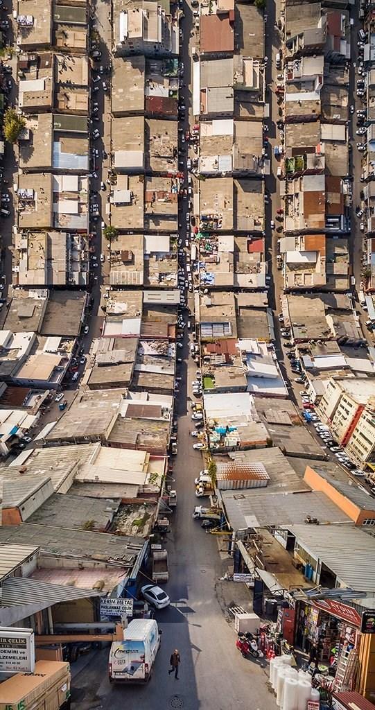 trippy landscape - Urban area