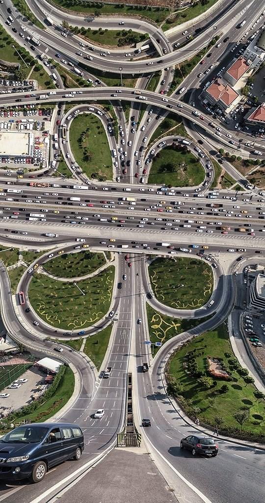 trippy landscape - Freeway