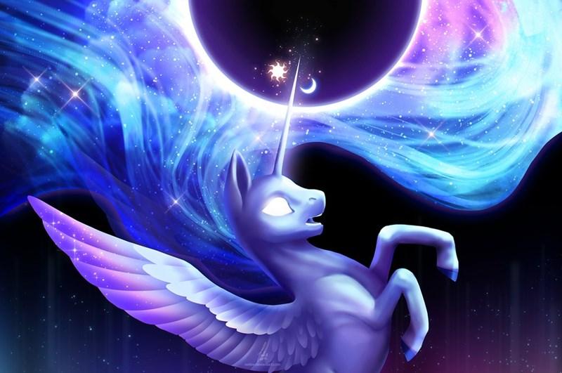 nekiw fusion princess luna princess celestia - 9018795776