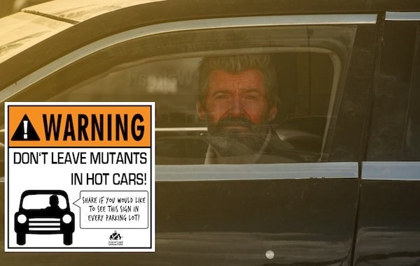 Vehicle - AWARNING DON'T LEAVE MUTANTS IN HOT CARS! SHARE IF YoU WOULD LIKE To SEE THIS SN IN EVERY PARKING LOT