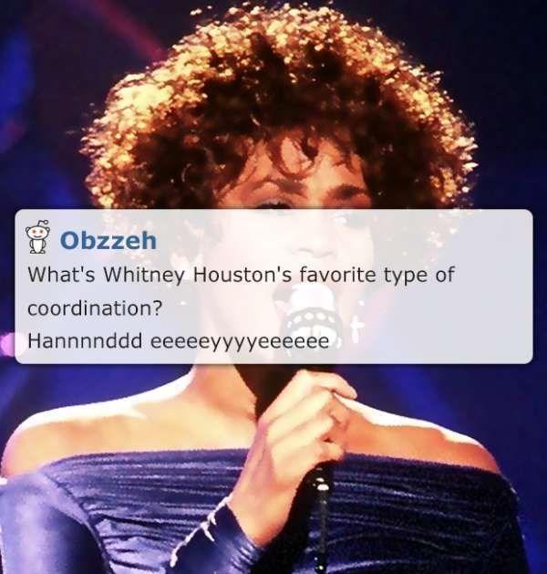 Corny Whitney Houston Joke