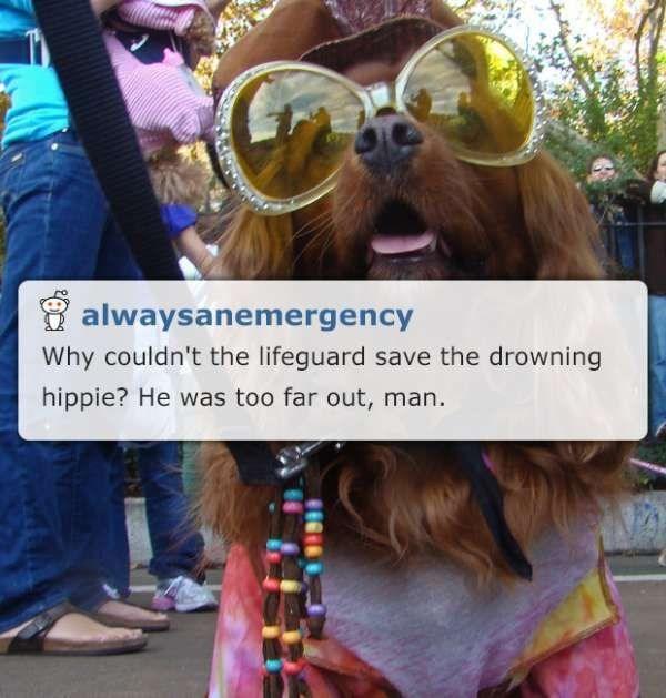 hippie corny joke