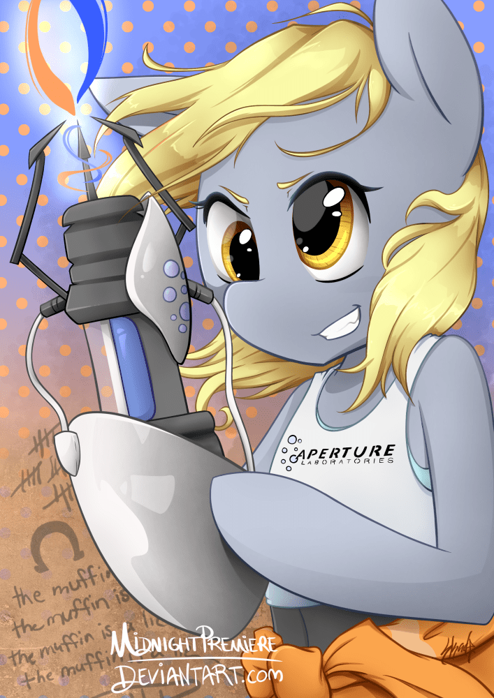 midnight premiere derpy hooves ponify Portal - 9019833856