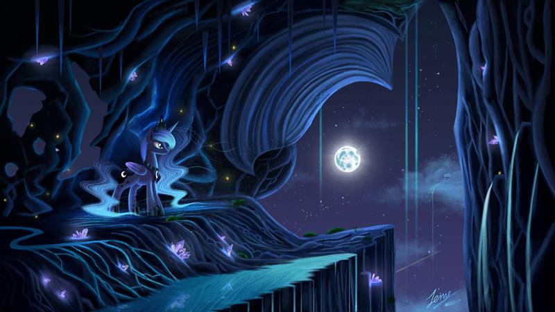 duskie-06 princess luna - 9019844096