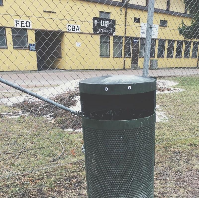 Recycling bin - UIF Fridroit FED СВА MEDIA