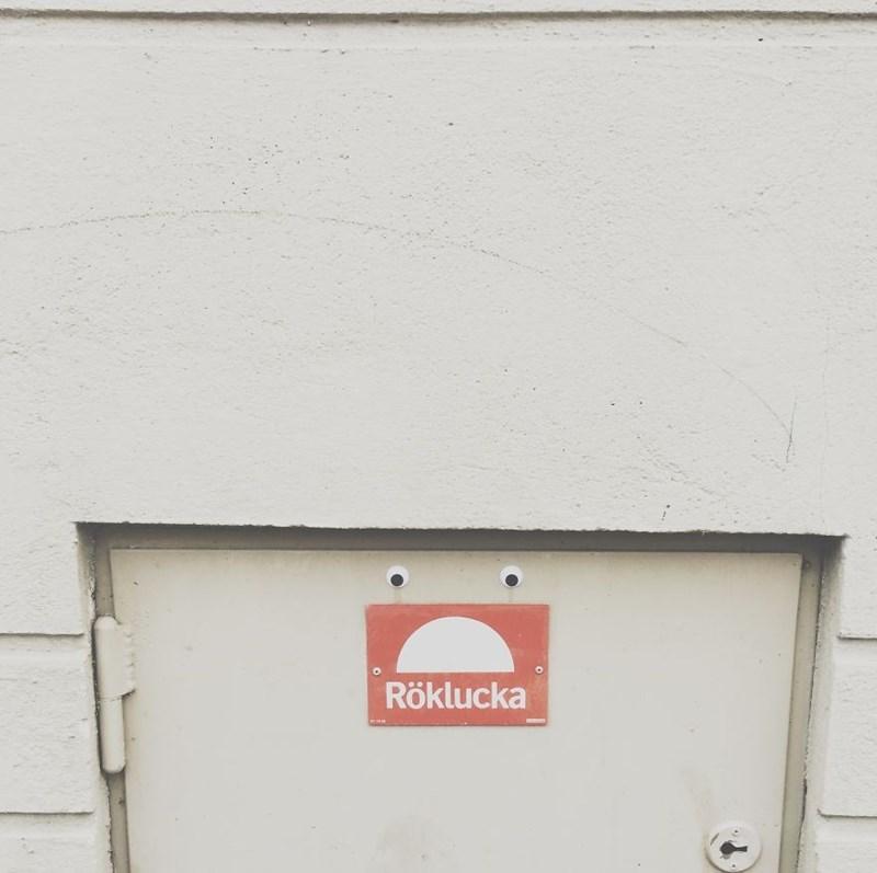 Wall - Röklucka