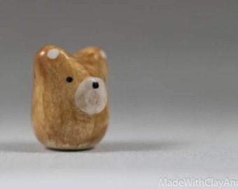 Teddy bear - MadeWithClayAnc