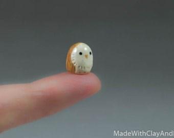Snowy owl - MadeWithClayAndl