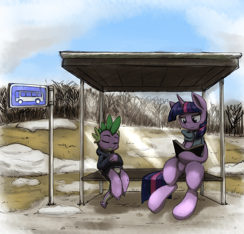 spike,otakuap,twilight sparkle